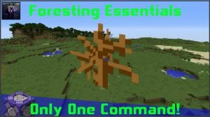 Descarca Foresting Essentials pentru Minecraft 1.11.2