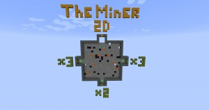 Descarca The Miner 2D pentru Minecraft 1.12.1