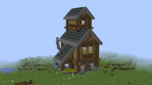 Descarca Small Rustic House pentru Minecraft 1.13.2