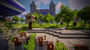 Descarca Castle and Gladiator Arena pentru Minecraft 1.13.2