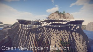 Descarca Ocean View Modern Mansion pentru Minecraft 1.14