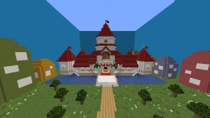 Descarca Super Mario Peach's Castle pentru Minecraft 1.14.3