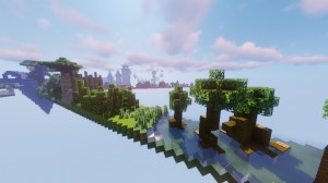 Descarca Biome Run 2 pentru Minecraft 1.14.4