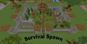 Descarca Castle Survival Spawn pentru Minecraft 1.16.5