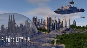 Descarca Future City pentru Minecraft 1.10.2